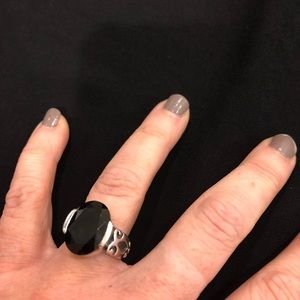 Silpada Black Onyx ring